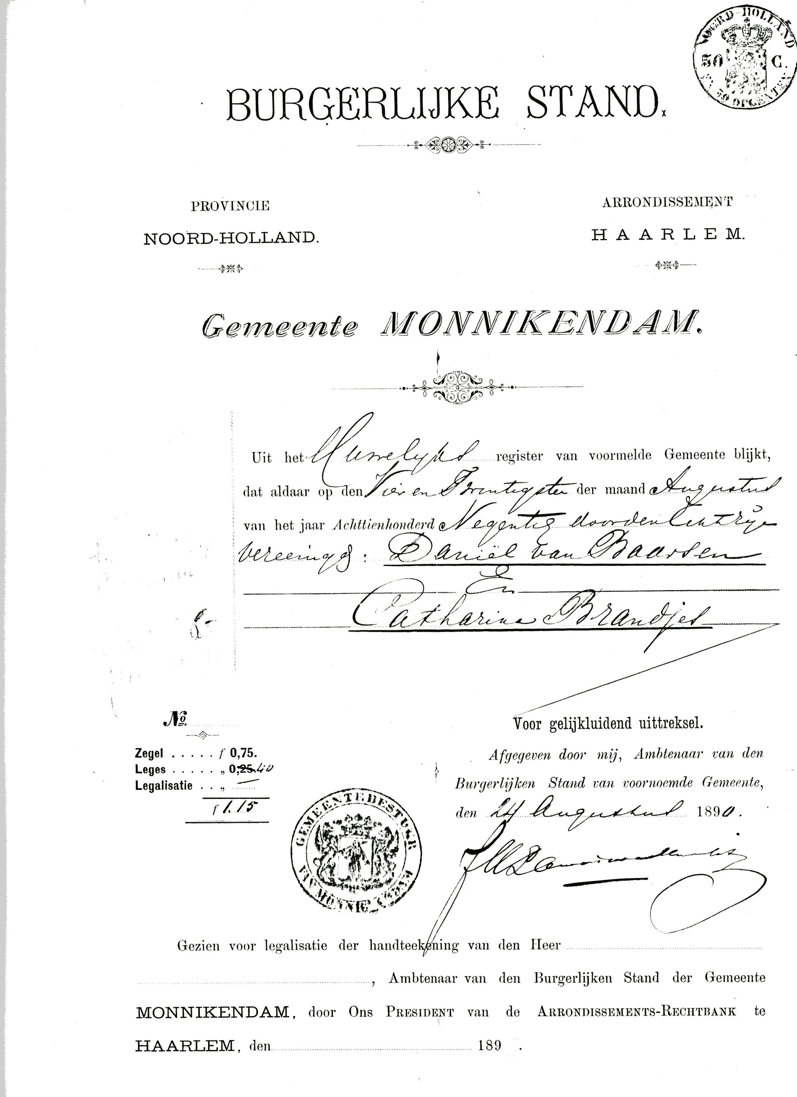 ontslagbrief ambtenaar voorbeeld 1884 – 1938 – Het Archief van het Bedrijf D. van Baarsen ontslagbrief ambtenaar voorbeeld